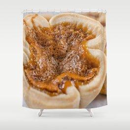 Butter Tart (TWO) Shower Curtain
