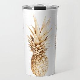 Pineapples and illusion Travel Mug