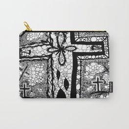 He is Risen - B/W Carry-All Pouch