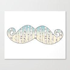 Russian mustache Canvas Print