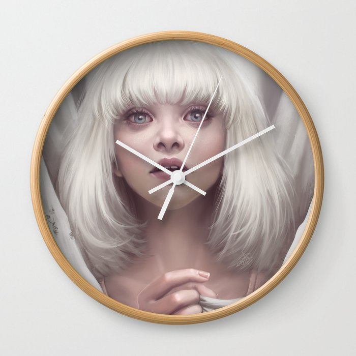 Maddie ziegler sia chandelier wall clock by ayyasap society6 maddie ziegler sia chandelier wall clock aloadofball Choice Image