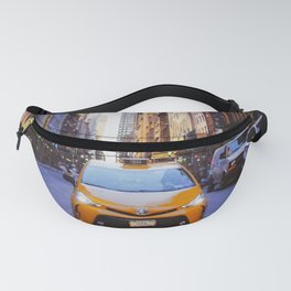 New York lonely cab Fanny Pack