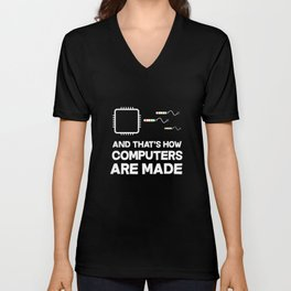Computer Engineering Software Engineer Network Developer Computer Science Unisex V-Neck
