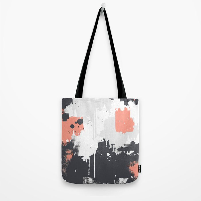 Abstract Paint Pattern 01 Tote Bag
