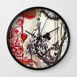 Play What You're Dealt Wall Clock