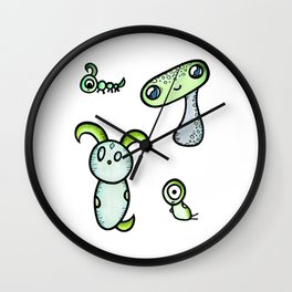 Curious Creatures Collection Wall Clock