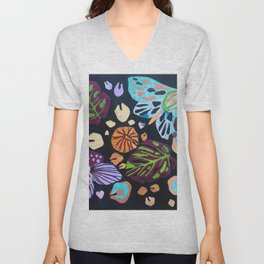 Night Moth No.2 Unisex V-Neck