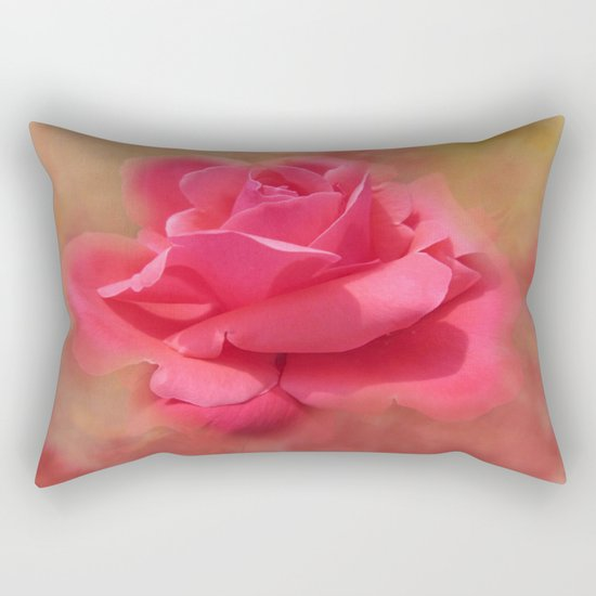 Enchanting Elegant Rose Rectangular Pillow