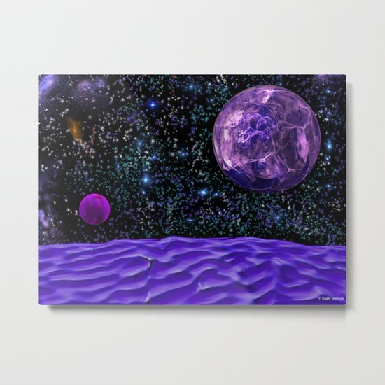 View From The Blue Moon Metal Print