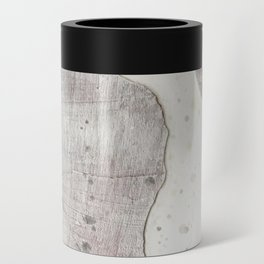 Feels: a neutral, textured, abstract piece in whites by Alyssa Hamilton Art Can Cooler