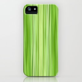Green 3 iPhone Case