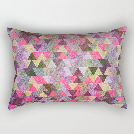 Geometric Pattern IX Rectangular Pillow