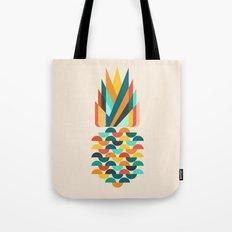 Groovy Pineapple Tote Bag