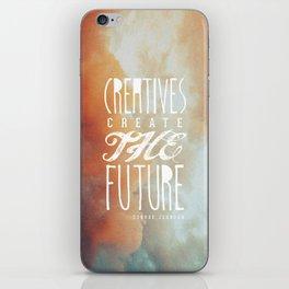 CREATIVES CREATE THE FUTURE iPhone Skin