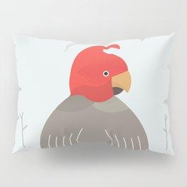 Gang-Gang Cockatoo, Bird of Australia Pillow Sham