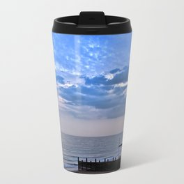 Walcott seafront Norfolk Travel Mug