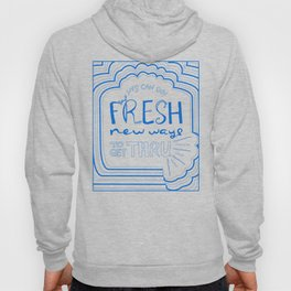 Fresh New Ways – Blueberry Hoody