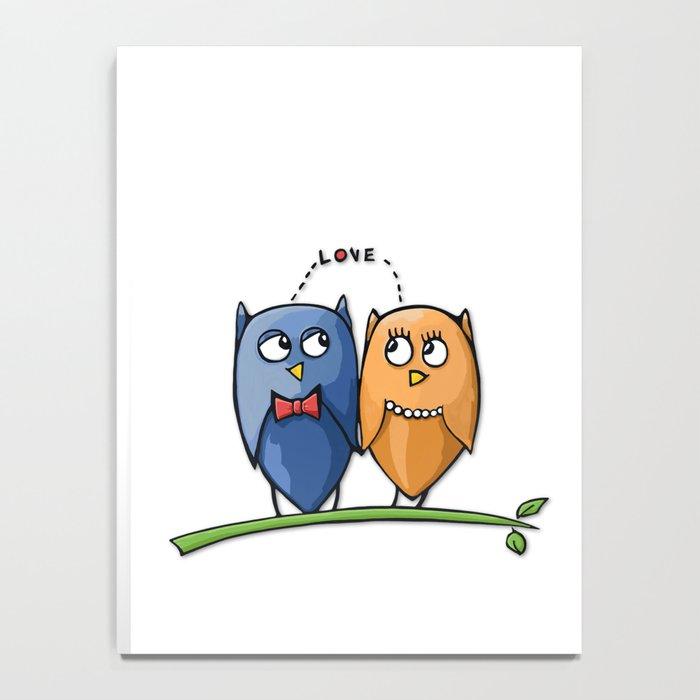 Owl Love Notebook