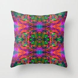 Nausea 1969 V (Ultraviolet) Throw Pillow