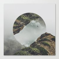 witchoria Canvas Prints featuring Release by witchoria
