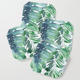 Tropical  Leaves Coaster