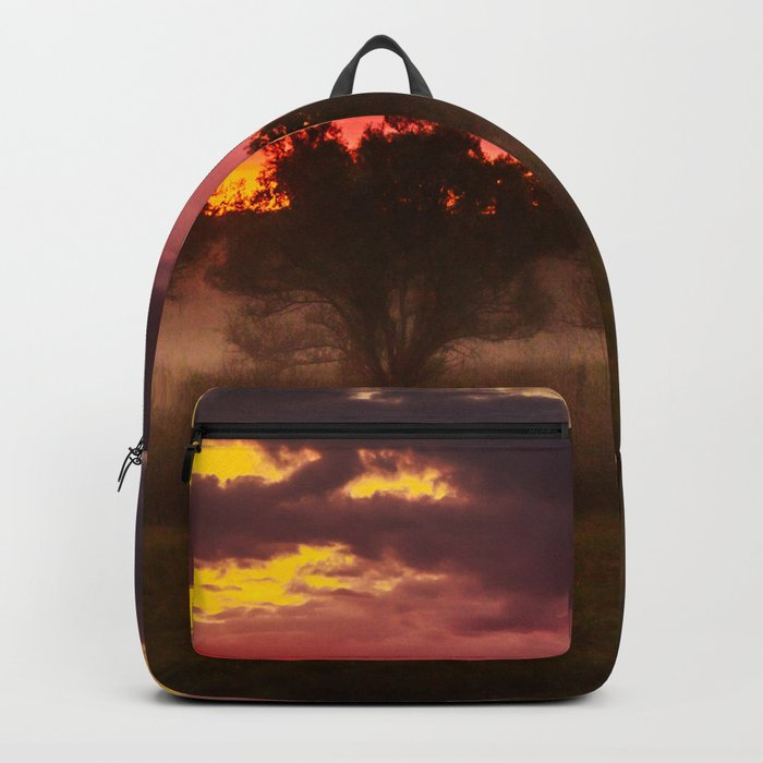Sunrise above Land of the Leopard Backpack