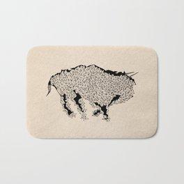 Geometric Bull Bath Mat