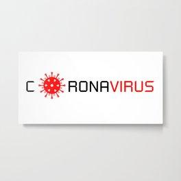 Logo Virus 2020 Metal Print