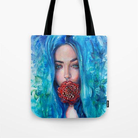 Rose Trap Tote Bag
