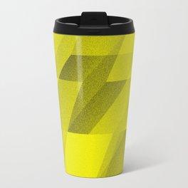 bent step - yellow Travel Mug