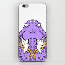 Gwalrus iPhone Skin