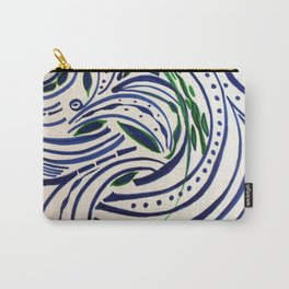 Water Flowing Plant Carry-All Pouch