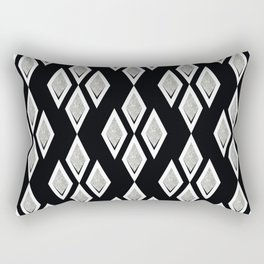 Black and white ,classic.2 Rectangular Pillow