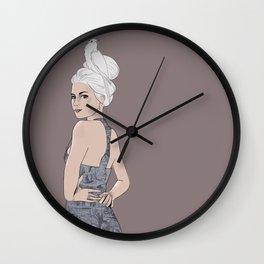 Head bird Wall Clock