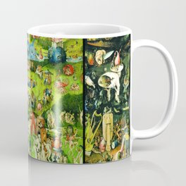 The Garden of Earthly Delights Triptych by Hieronymus Bosch Coffee Mug