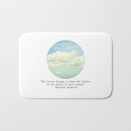 The beauty of the dreams Bath Mat