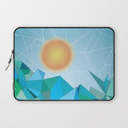 Landscape - geomertic work Laptop Sleeve