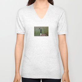 keeping watch Unisex V-Neck