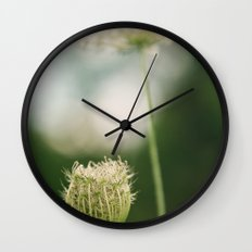 Wildflower 2 Wall Clock