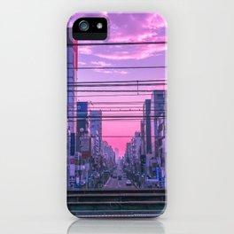 Tokyo Skies iPhone Case