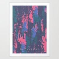 Monica Gems Art Print