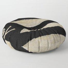 Cut Skull Flag Floor Pillow
