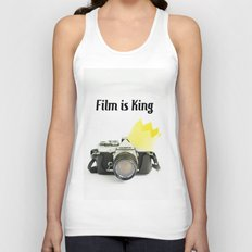 Film is King Unisex Tank Top