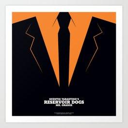 Reservoir Dogs Mr. Orange Art Print