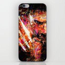 BRUSHWOLVERINE iPhone Skin