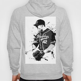Brooklyn 42 baseball man Hoody