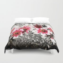 Touch Of Pink  Duvet Cover