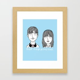 T & S Framed Art Print