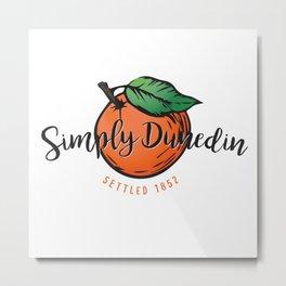 Simply Dunedin Metal Print