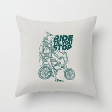 Ride or Don't! Throw Pillow